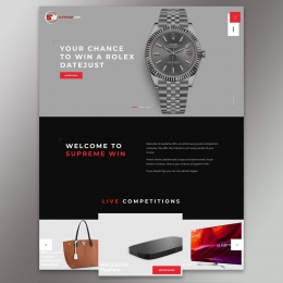 Welcome to Supreme Win – a new online luxury competition site. If you dream big, you can now dream bigger! #supremewin . . . . #luxurylifestyle #luxury #competition #lottery #win #raffle #lucky #prizes